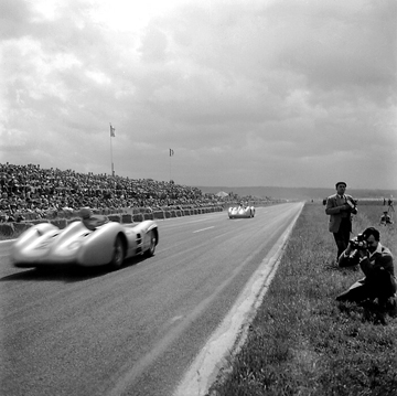 French Grand Prix Reims-Gueux Mercedes-Benz
