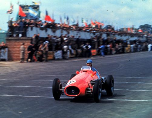 Ascari, Ferrari, Silverstone