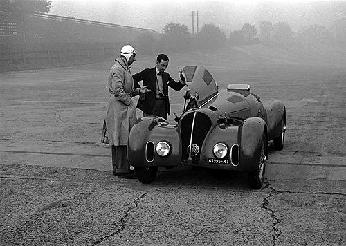 Cortese, Klemantaski, Alfa Romeo, Brooklands