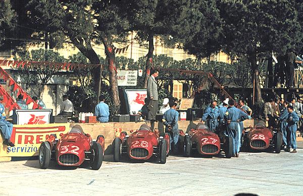 Lancia, Monaco Grand Prix, Ascari, Castellotti
