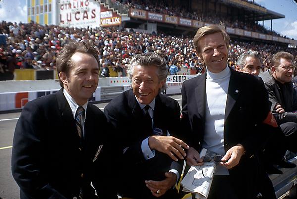 Phil Hill, Olivier Gendebien, Paul Frere, Le Mans