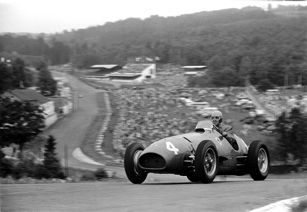 52C3A-32A 1952 Belgian Grnd Prix; Spa-Francorchamps Ferrari 500/F2; A. Ascari