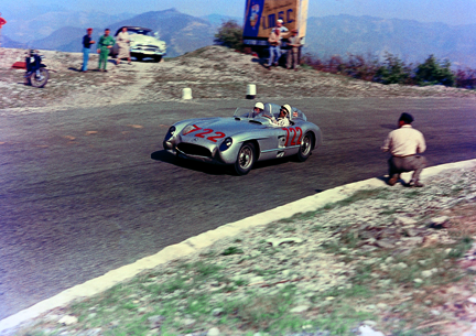Stirling Moss, Denis Jenkinson, Mercedes-Benz, Mille Miglia