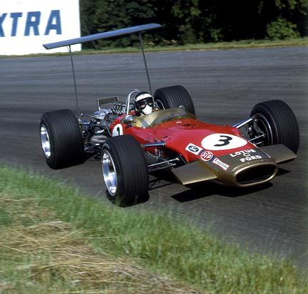 Jackie Oliver, Lotus 49, Oulton Park