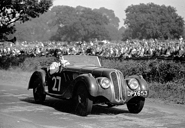 stirling moss, bmw 328, poole speed trials