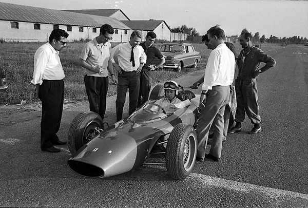Ferrari, Surtees, Forghieri, Rochi
