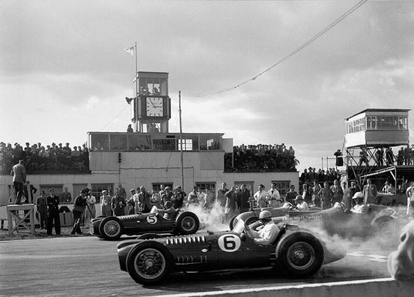 BRM, Goodwood,Ferrari, Parnell, Gonzalez