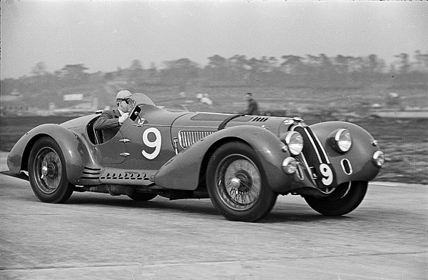 Hugh Hunter, Alfa Romeo, 8C2900, Brooklands