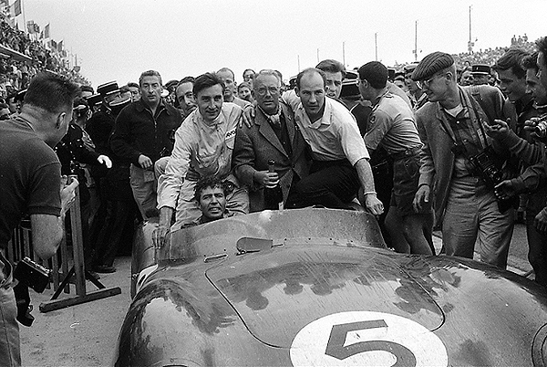 Aston Martin, David Brown, Carroll Shelby, Roy Salvadori, Stirling Moss, Le Mans