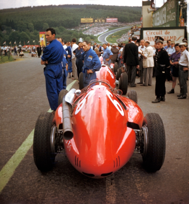 Spa-Francorchamps, Ferrari