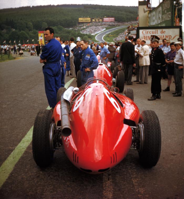 Spa-Francorchamps, Ferrari