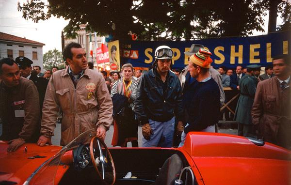 Ferrari, De portago, Peter Collins, Brescia, Mille Miglia