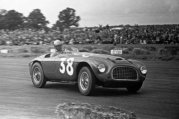 Ferrari, Ascari, Barchetta, Silverstone