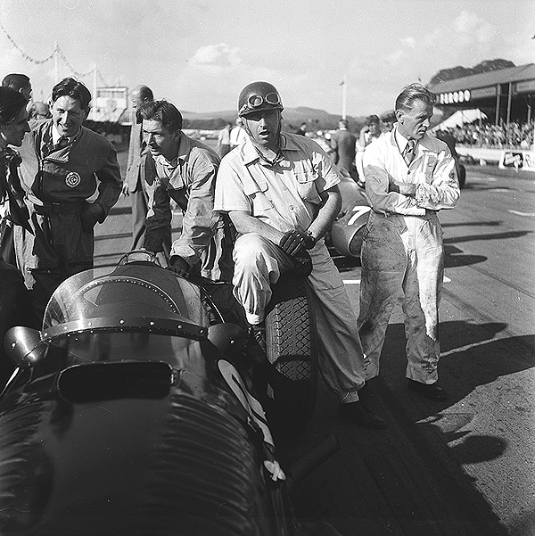 Fangio, BRM Goodwood