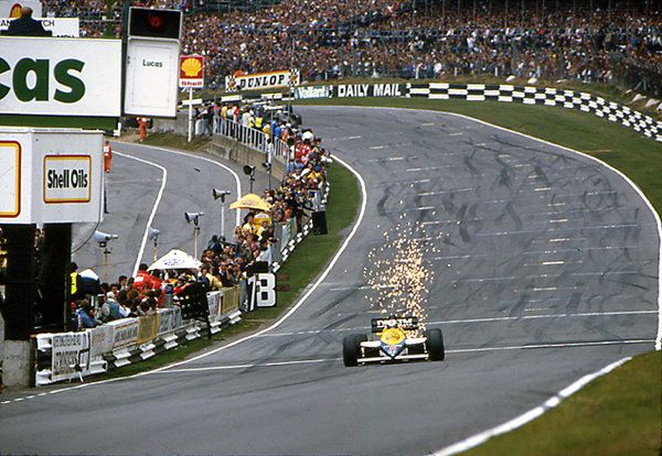 Mansell, Williams, Brands Hatch