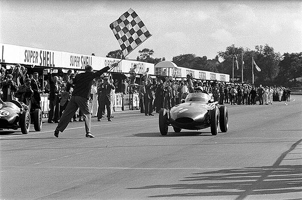 Vanwall, Aintree, Stirling Moss, British GP