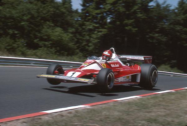 Lauda, Ferrari, Nurburgring