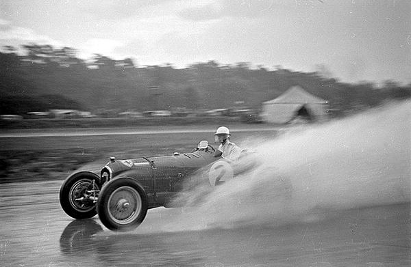 Alfa Romeo, K. D. Evans, Brooklands