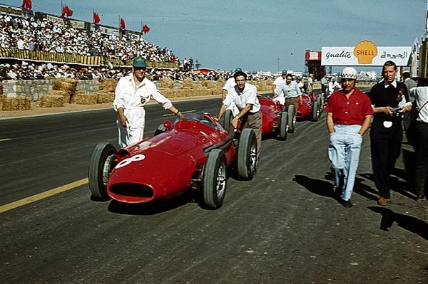Jean Behra, Maserati, Rob Walker, Casablanca, Morocco Grand Prix