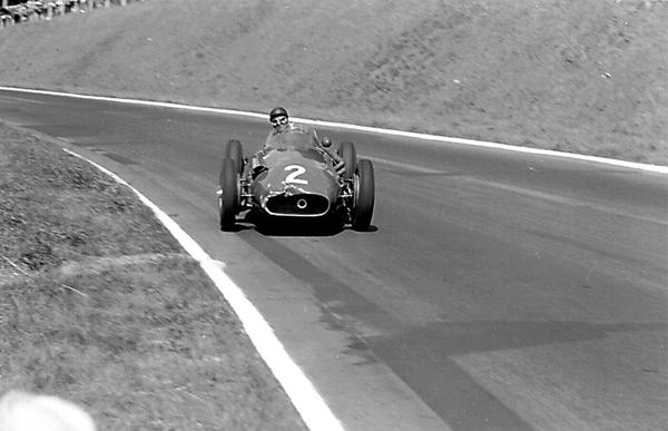 Fangio, Maserati 250F, Rouen-Les Essarts