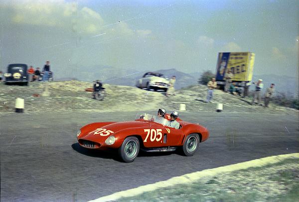 Umberto Magliolo, Mille Miglia, Ferrari, 121LM