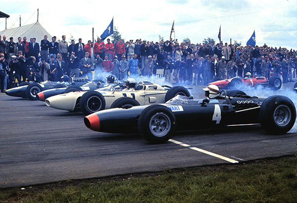 Jackie Stewart, Silverstone, BRM, Honda