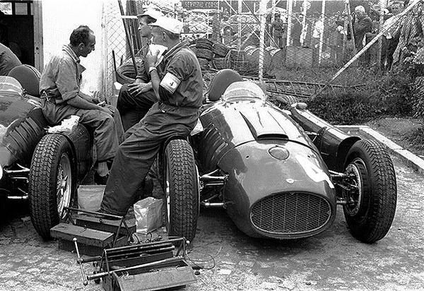 Lancia, Ferrari, Monza