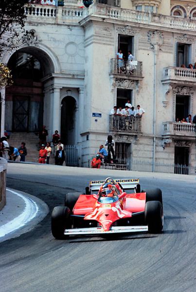 Ferrari Monaco Grand Prix, Gilles Villeneuve