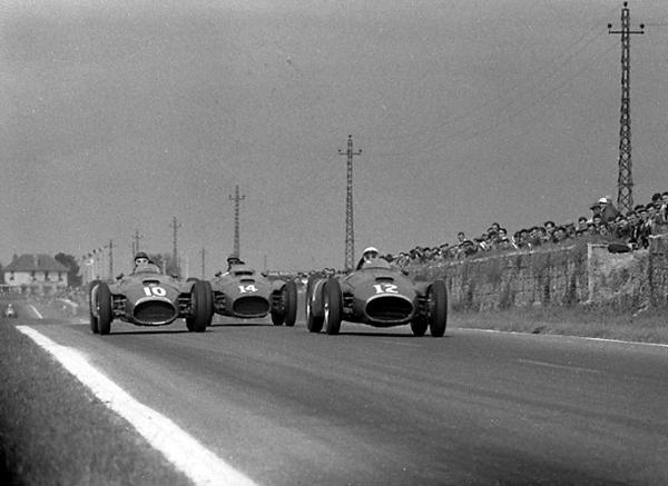 Ferrari-Lancia, Reims, Juan Fangio, Peter Collins, Eugenio Castellotti
