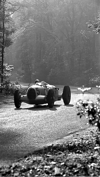 Auto Union, Bernd Rosemeyer, Donington