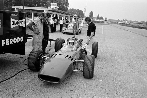 Jonathan Williams, Ferrari 312F1