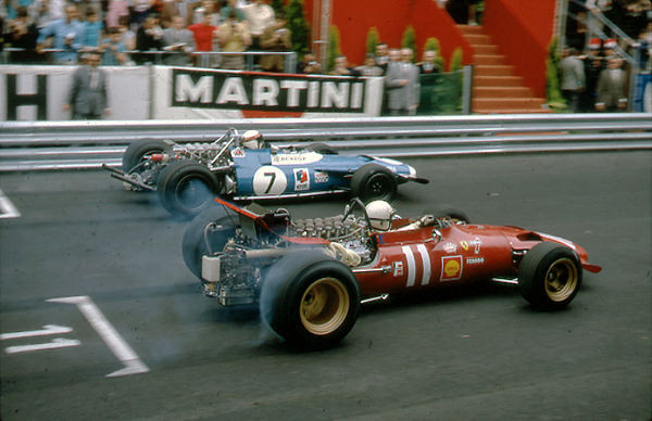 Ferrari, Matra, Monaco Grand Prix, Chris Amon, Jackie Stewart