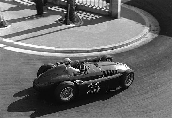 Lancia D50, Alberto Ascari, Station Hairpin