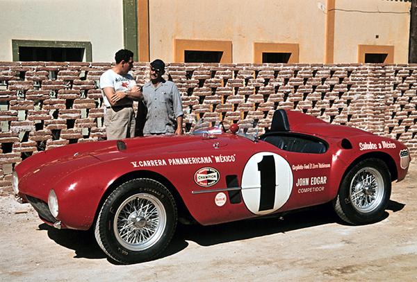 Ferrari, Carrera Panamericana, Jack McAfee, Ford Robinson