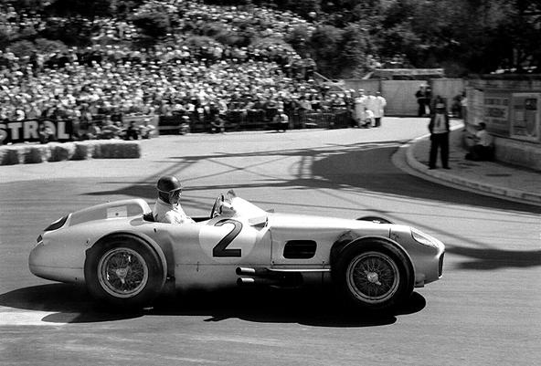 Fangio Monaco, Mercedes