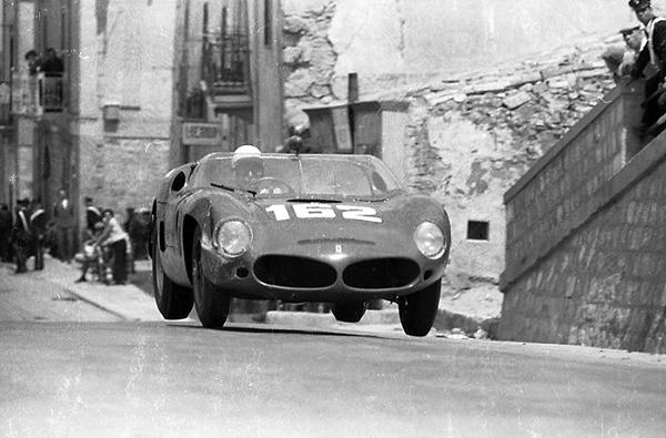 Ferrari, Targa Florio, Olivier Gendebien