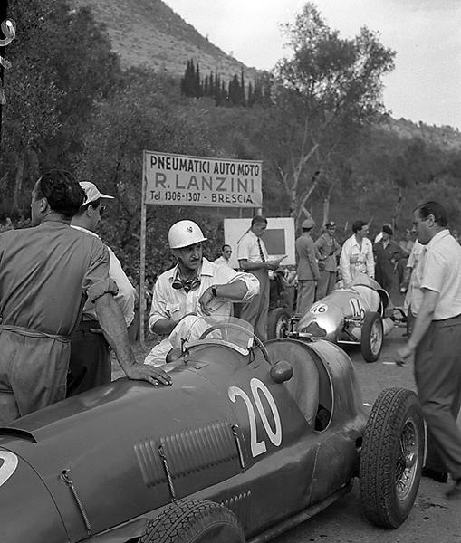 Bruno Sterzi, Ferrari, Salo, Circuito del Garda