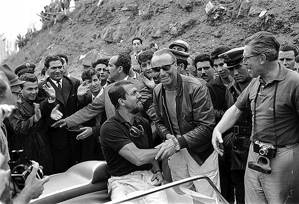 Targa Florio, Porsche, Jo Bonnier, Edgar Barth, von Hanstein