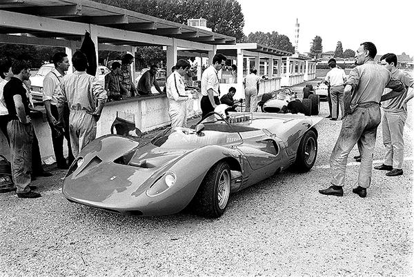 Ferrari, Modena Aerautodromo, Chris Amon