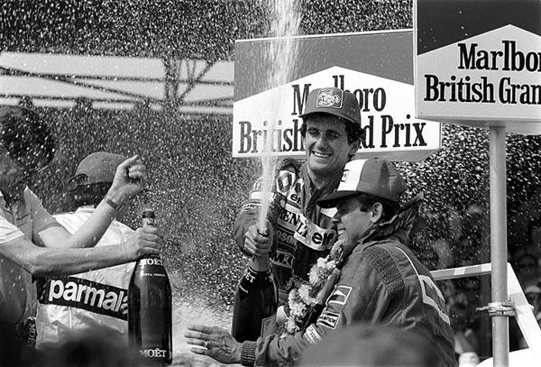 Alain Prost, Patrick Tambay, British Grand Prix