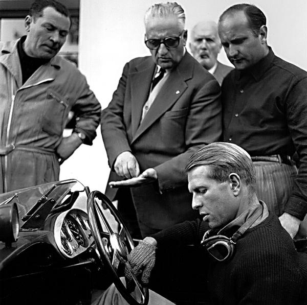 Enzo Ferrari, Peter Collins