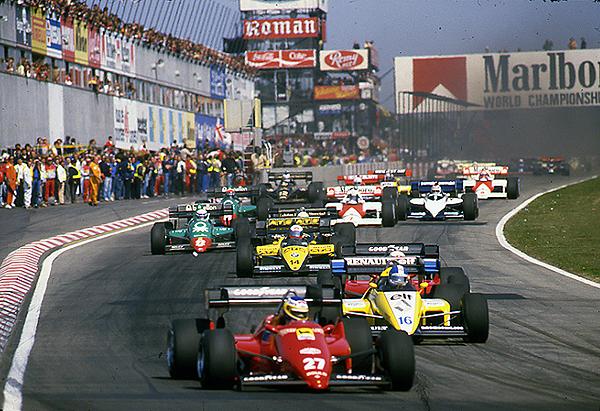 Ferrari, Alboreto,