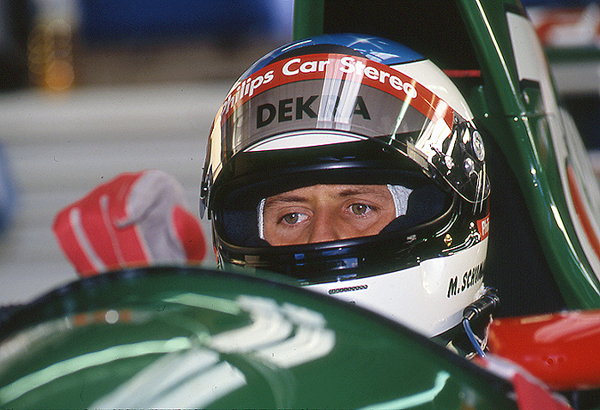 Michael Schumacher, Jordan, Spa-Franbcorchamnps