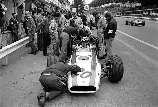 Honda, Spa-Francorchamps