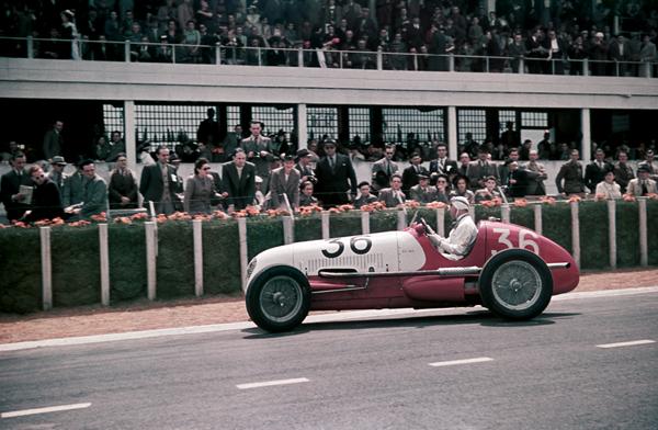 Reims, Armand Hug, Maserati