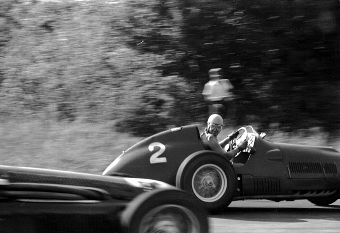 Ascari, Ferrari, Monza, Klemcoll