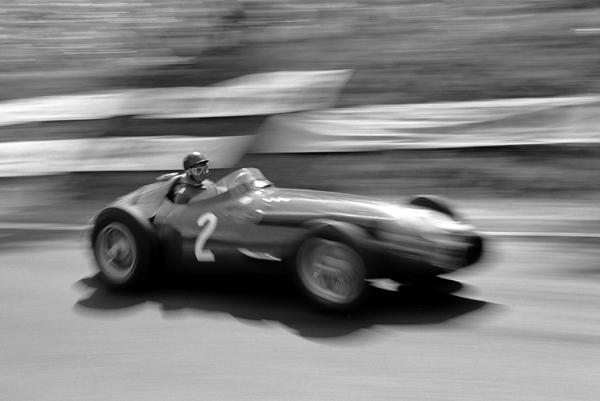 Fangio, Maserati, Rouen, klemcoll