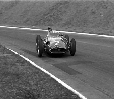 Fangio, Maserati, klemcoll