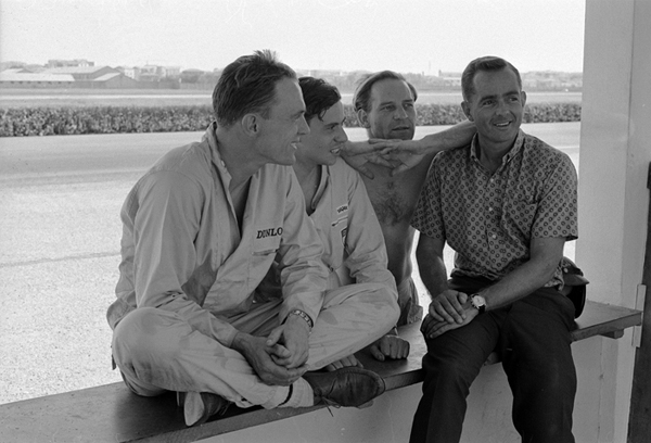 Dan Gurney, Phil Hill; Innes Ireland; Jim Clark; Modena