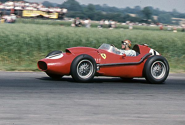 Peter Collins, Ferrari, klemcoll